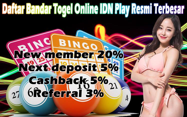 Daftar Bandar Togel Online IDN Play Resmi Terbesar